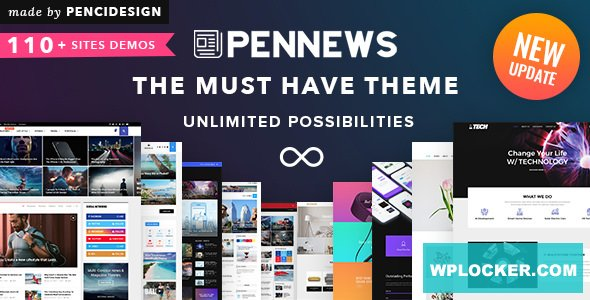 PenNews v6.6.0 – News/ Magazine/ Business/ Portfolio nulled