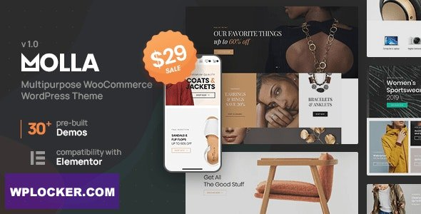 Molla v1.0 – Multi-Purpose WooCommerce Theme