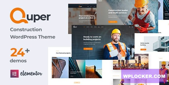 Quper v1.5 – Construction and Architecture WordPress Theme