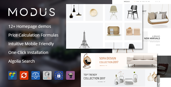 Modus v1.6.1 – Modern Furniture WooCommerce Theme