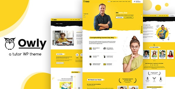 Owly v2.1 – Tutor, Training WordPress, elearning Theme