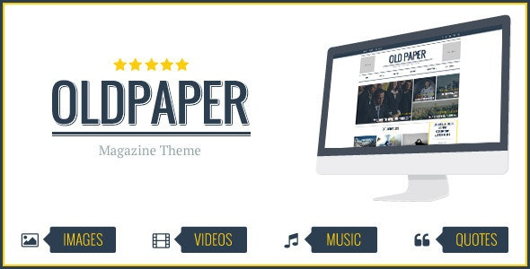 OldPaper v1.7.0 – Ultimate Magazine and Blog Theme